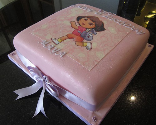 dora_and_friends_birthday_cake