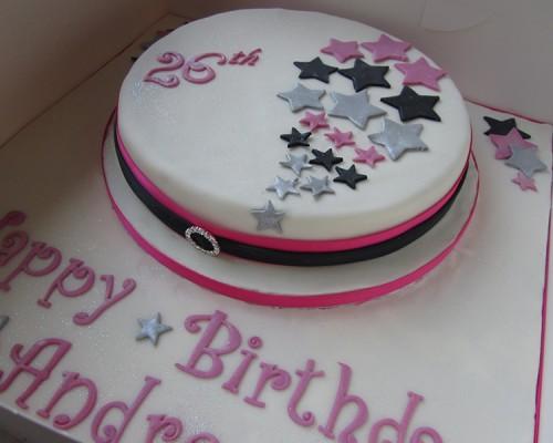 Super One Tier 26Th Birthday Cake Neo Cakes Funny Birthday Cards Online Necthendildamsfinfo