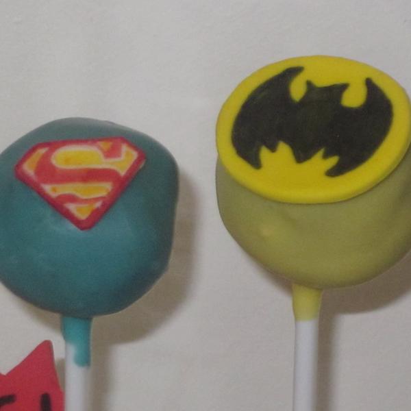 Superhero Cake Pops Neo Cakes